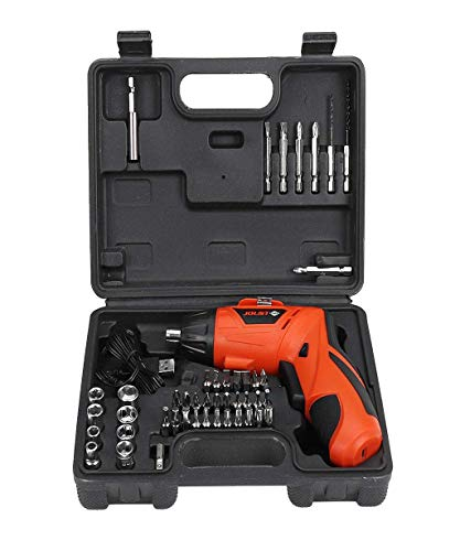 Price comparison product image Vacally 45Pcs Electric Screwdriver Toolbox Set