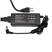 """Molshine 19V AC Adapter Compatible for LG Electronics LED LCD HDTV Monitor Widescreen (19"""" 20"""" 22"""" 23"""" 24"""" 27"""") Power Supply Cord Wall Charger"""