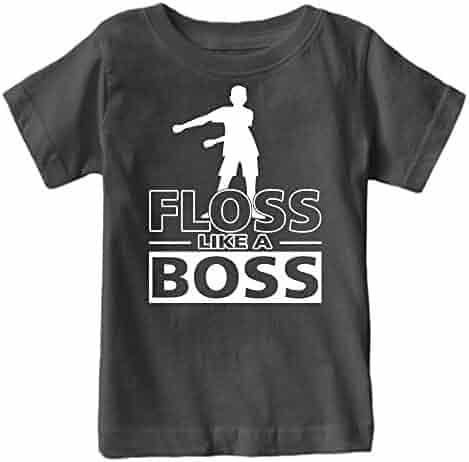 Kids Floss Like a Boss Flossin Dance Youth T Shirt