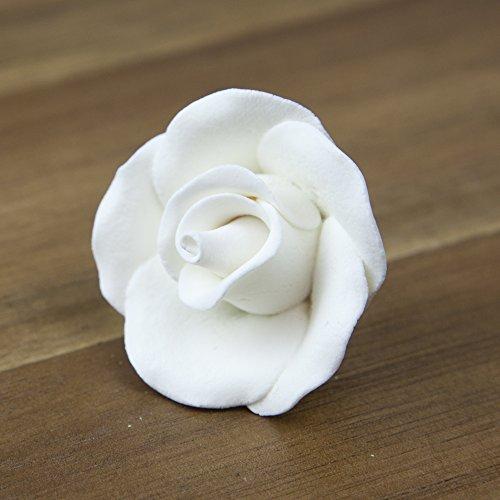 - Rose, Premium White, Unwired, Medium 16 Count by Chef Alan Tetreault
