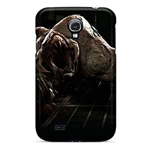 InesWeldon Samsung Galaxy S4 Shock Absorbent Hard Phone Cover Allow Personal Design Colorful Monster Skin [DVn11519tZgs]