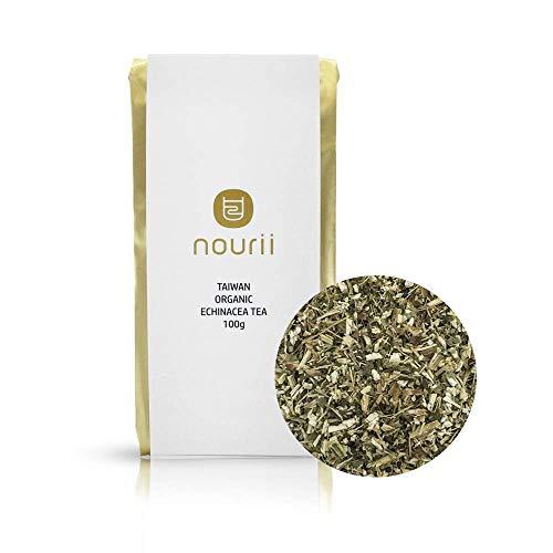THROAT COAT TEA, Organic Echinacea Loose Leaf Immune Teas – Rich in Antioxidants. Naturally Sourced Hand Picked (100 Grams)