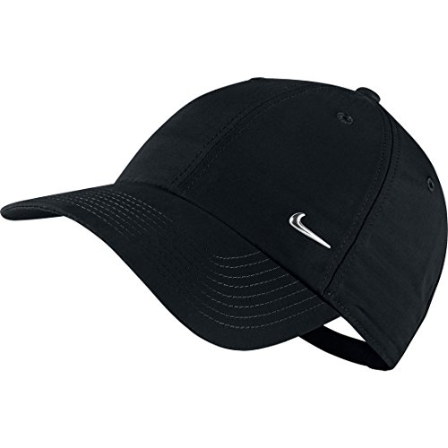 Nike Men's Metal Swoosh Cap One Size Black