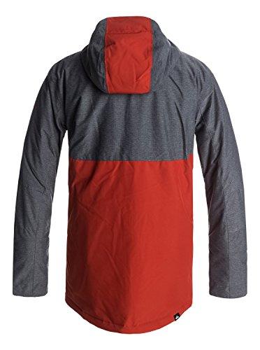 Ketchup Veste Sierra Homme Eqytj03124 Snow De Pour Red Quiksilver 064gO
