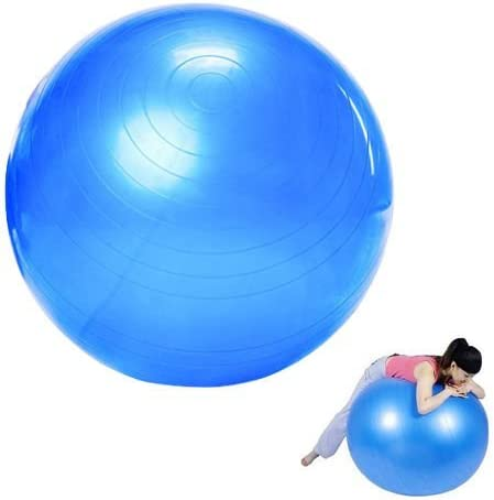 PELOTA SUIZA HINCHABLE DE PILATES Y FITNESS BODY FITBALL-75CM ...