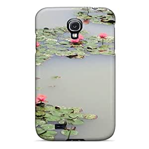 Perfect Lotus Pond Case Cover Skin For Galaxy S4 Phone Case