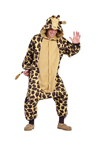 RG Costumes Georgie Giraffe, Brown/Tan, Adult