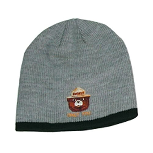 9081f10d4b2 Smokey The Bear Prevent Forest Fires Knit Winter Beanie Hat Cap - Grey -  Buy Online in UAE.