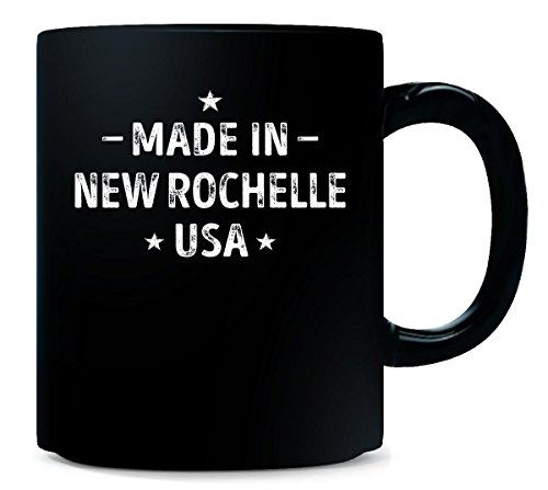 Made In New Rochelle City Usa. Cool Gift - Mug -