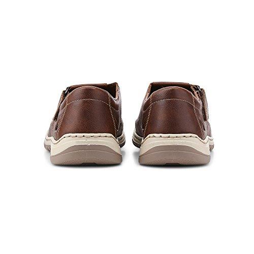 08065 Sneakers Zapatillas Men Rieker Hombre marrón dvw0x