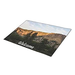 WYD-A Mountains Door Mate Cool Doormats One size