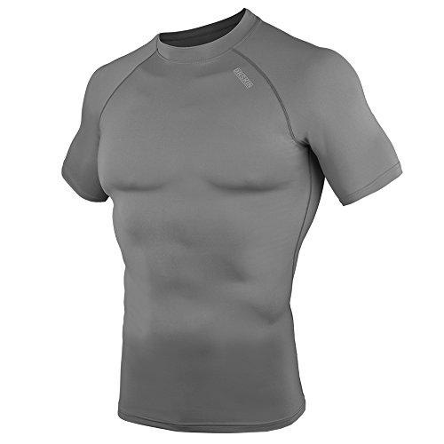 [DRSKIN] Compression Tight Short Sleeve Shirt Base