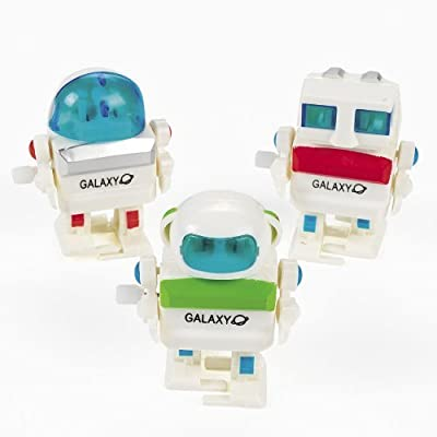 Wind Up Futuristic Robots (1 dz) by Fun Express