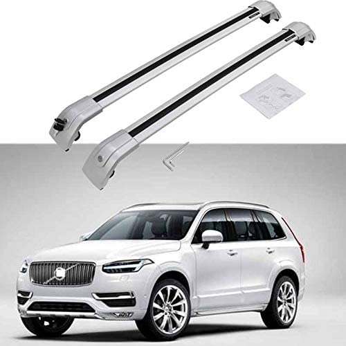 HEKA Cross Bar for Volvo V60 2011-2018 Crossbar Roof Rail Rack Luggage