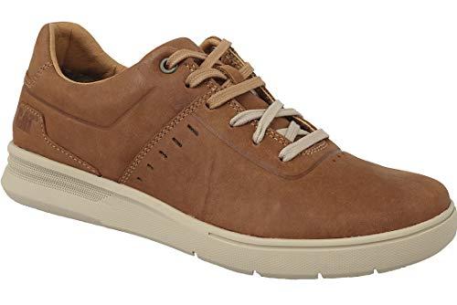 Caterpillar Uomo Sneakers Ginger Shoes Fathom in Sneakers pelle Cat P722376 vIarv