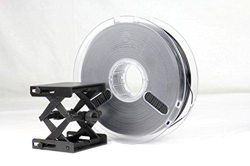 Polymaker PC-Plus 3D Printer Filament, PC Filament, True Black, 1.75 mm 750g, with BuldTak Building Surface