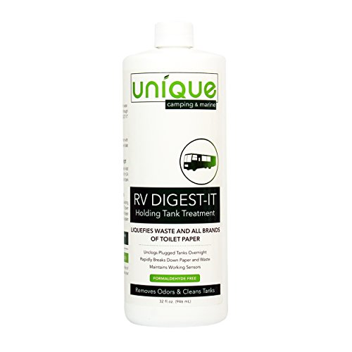 Unique RV Digest-IT Holding Tank Treatment - 32 oz. Liquid -
