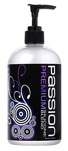 Passion Lubes Premium Silicone Lube Blend, 16.4 oz ()