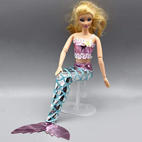 djryj Pragmatic 6 Colores Precioso Sirena Cola Traje de Baño ...