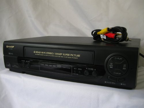 sharp vcr player - 1