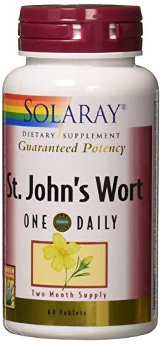 Solaray - Guaranteed Potency St. John's Wort One Daily 900 mg. - 60 Tablets