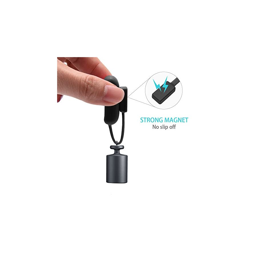 BeneStellar Fitbit Flex 2 Silicone Clip Holder, Silicone Clip Holder Built in Smart Strong Magnetic Clasp Strap for Fitbit Flex 2,No Tracker