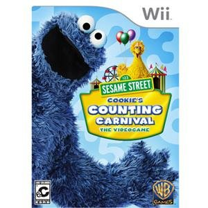 NEW Sesame Street: Cookie's Wii (Videogame Software) (Wii Sesame Street Game)