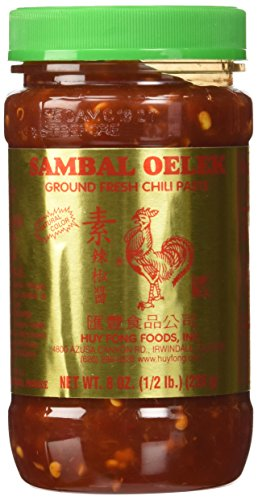 (Huey Fong Sambal Oelek Chili Paste 8 Oz)