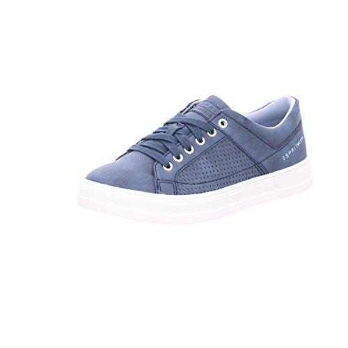 Esprit Bleu Marine Sneakers Up Basses Femme Lace Astro 1qgPwr1