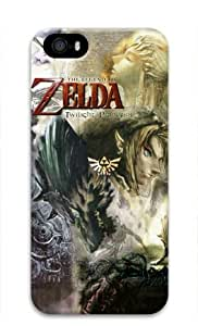 Link Looking Hot the Legend of Zelda Twilight Princess Iphone 5/5S Hard Protective 3D Case by eeMuse