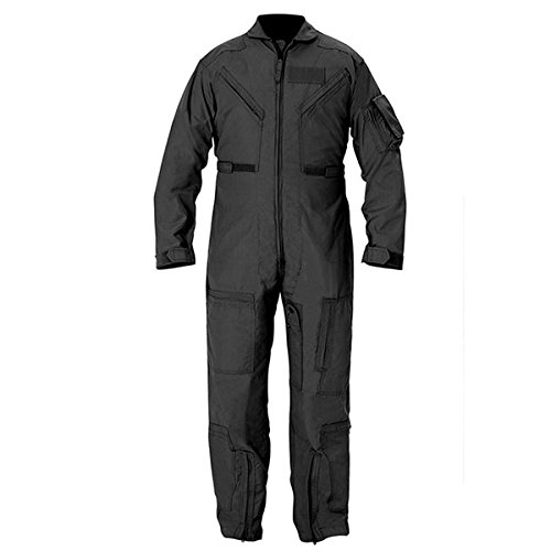 Propper Cwu 27/P Nomex Flight Suit,Black,46 Long by Propper