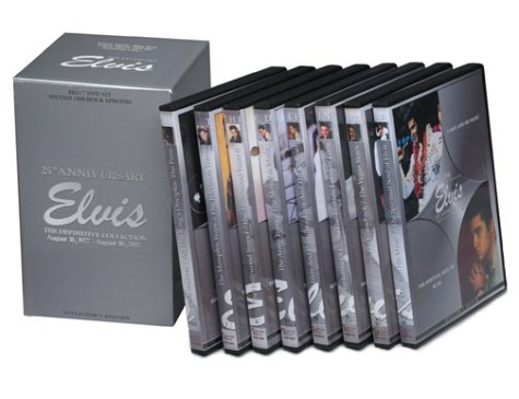 Elvis: The Definitive Collection DVD (25th Anniversary Boxed Set) [DVD]