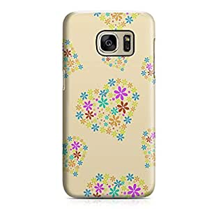 Samsung S7 Case Heart Love Pattern Pattern Great For Girls Durable Metal Inforced Light Weight Samsung S7 Cover Wrap Around 136