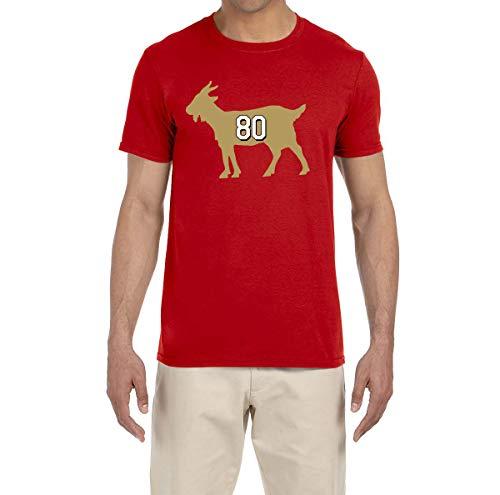 Tobin Clothing RED San Francisco Rice Goat T-Shirt Adult Large