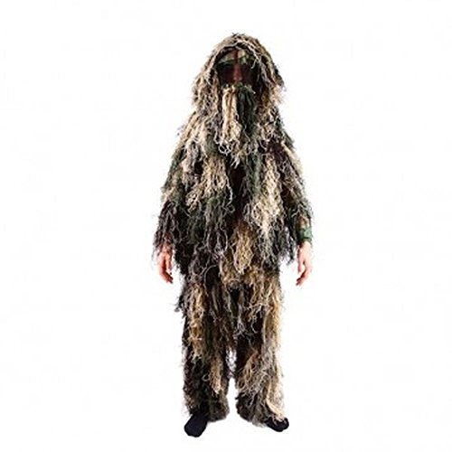 Kids Army Camouflage Netting Ghillie