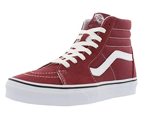 Vans Unisex Adults' Sk8-Hi Hi-Top Trainers, Red (Apple Butter/True White Q9S), 5 UK 38 -