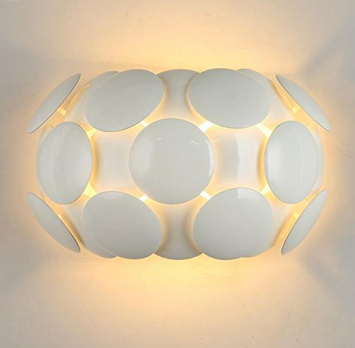 Abs + Hardware Chassis Modern Bedroom Bedside Lamp Led Channel Lights Living Room Balcony Creative European Simple Nordic Staircase Lamps (38 22Cm) by DMMSS