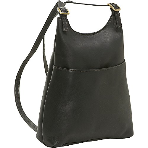 le-donne-leather-womens-sling-backpack-purse-black