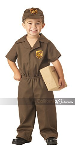 California Costumes Ups Driver Toddler Costume, 2-3 by California Costumes