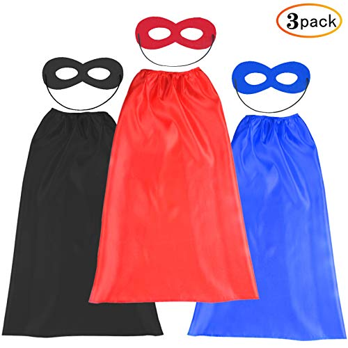 Hero Factory Halloween Costumes (Kids Halloween Capes and Masks- Costume for Girls Boys Dress Up -Compatible Superhero Toys Best Gifts)