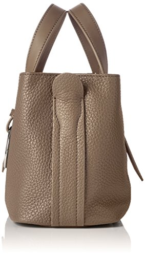 Liebeskind Berlin - Satchelm Millen, Borsa a mano Donna Marrone (Cold Grey 9408)