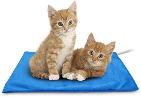 Almohadilla de calefacción para mascotas gato y perro 2