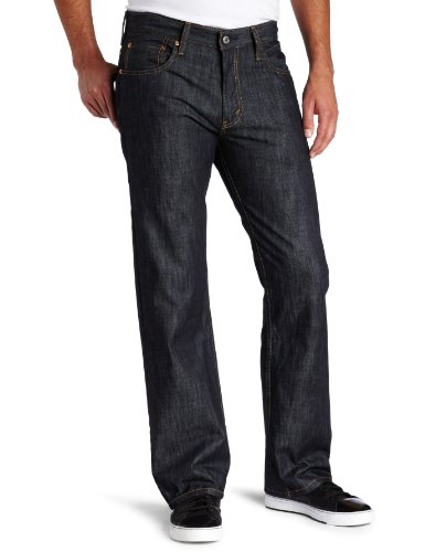 (Levi's Men's 569 Loose Straight Leg Jean, Ice Cap 34W x 32L)