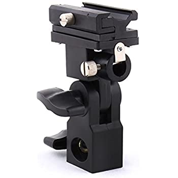 DTOL Flash Bracket Swivel Umbrella Holder Studio Tilting Bracket for Nikon Canon E430 E580 SB600 SB800 SB900 Bracket B