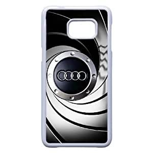 Samsung Galaxy Note 5 Edge Custom Cell Phone Case Audi Car Logo Case Cover 2WFF37926