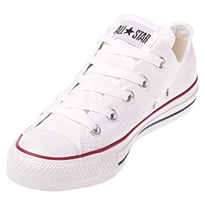 Converse Unisex Chuck Taylor All Star Low Basketball Shoe (8 B(M) US Women / 6 D(M) US Men, Optical White)
