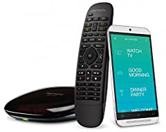 The Logitech Harmony Companion All in One Remote Control is the perfect device for you home entertainment system. This remote work with Alexa to provide voice-activated controls for ultimate convenience. With this remote, you can control up t...