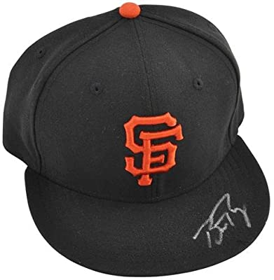New Era Buster Posey San Francisco Giants Autographed Hat - Fanatics Authentic Certified - Autographed MLB Helmets and Hats