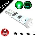 LED Monster 20 x T5 5 SMD Green Chip Instrument Speedo DASHBOARD LED CAR LIGHT For 1990-2012 Honda Civic