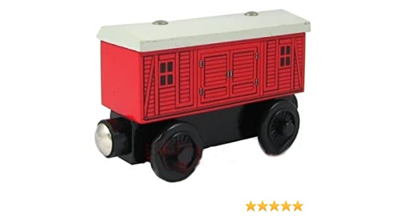 Red Baggage Car Thomas Friends Wooden Railway Tank Train Engine Brand New Loose